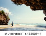 hobby and vacation. young man... | Shutterstock . vector #648800944