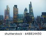 london  uk   december 19  2016  ... | Shutterstock . vector #648814450