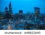 london  uk   december 19  2016  ... | Shutterstock . vector #648822640