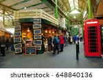 london  england  july 7  2013 ... | Shutterstock . vector #648840136