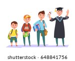 set character different ages... | Shutterstock .eps vector #648841756