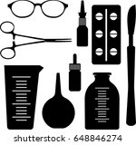 medical set icon   Shutterstock .eps vector #648846274