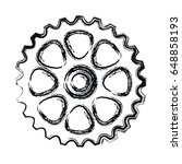 bike gears design | Shutterstock .eps vector #648858193