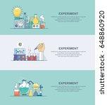 laboratory experiment   Shutterstock .eps vector #648860920