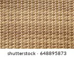 close up of rattan pattern... | Shutterstock . vector #648895873