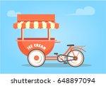 vector summer illustration... | Shutterstock .eps vector #648897094