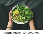 Green Vegan Breakfast Meal In...