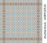 colorful pattern for carpets ... | Shutterstock . vector #648910510