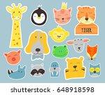 vector  cute illustration of... | Shutterstock .eps vector #648918598