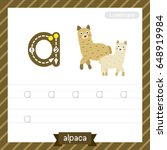 letter a lowercase tracing... | Shutterstock .eps vector #648919984