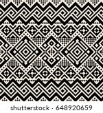 vector tribal design background.... | Shutterstock .eps vector #648920659