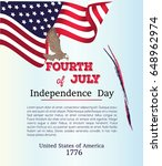 happy independence day poster ... | Shutterstock .eps vector #648962974