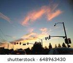 evening glow | Shutterstock . vector #648963430