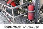 one red tank of fire... | Shutterstock . vector #648967840