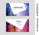 abstract vector layout... | Shutterstock .eps vector #648982810