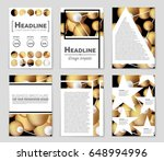 abstract vector layout... | Shutterstock .eps vector #648994996