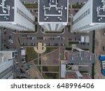a complex of multi apartment... | Shutterstock . vector #648996406