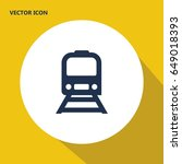 underground train vector icon | Shutterstock .eps vector #649018393