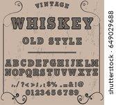 font script typeface vector....   Shutterstock .eps vector #649029688