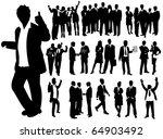 business people | Shutterstock .eps vector #64903492