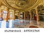 bucharest  romania  may 2  2017 ... | Shutterstock . vector #649041964