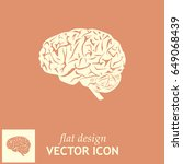 brain icon | Shutterstock .eps vector #649068439