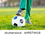 close up of feet and legs of... | Shutterstock . vector #649074418