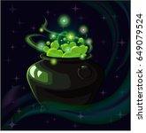 cartoon fantasy magic icon for... | Shutterstock .eps vector #649079524