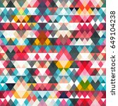 triangle seamless pattern ... | Shutterstock .eps vector #649104238