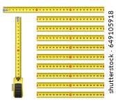measuring graphic design...   Shutterstock .eps vector #649105918