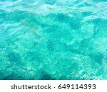 Beautiful Turquoise Water From...