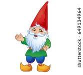 Cute Cartoon Garden Gnome....