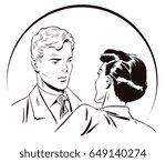 stock illustration. people in... | Shutterstock .eps vector #649140274