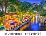 san antonio  texas  usa... | Shutterstock . vector #649148494