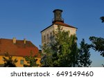 old tower | Shutterstock . vector #649149460