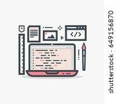 web designer or programmer pink ...