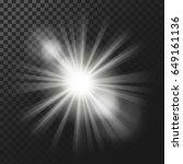 vector illustration of a white... | Shutterstock .eps vector #649161136