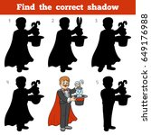 find the correct shadow ...   Shutterstock .eps vector #649176988