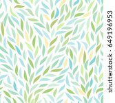natural seamless pattern | Shutterstock .eps vector #649196953