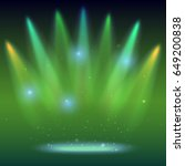 background with rays of light...   Shutterstock .eps vector #649200838