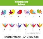 educational children game.... | Shutterstock .eps vector #649209538
