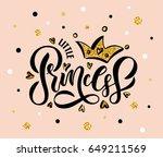 vector illustration of little...   Shutterstock .eps vector #649211569
