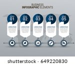 business infographic diagrams | Shutterstock .eps vector #649220830