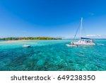 gabriel island  mauritius east... | Shutterstock . vector #649238350