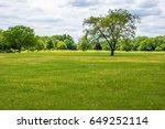 A Scenic Late Spring View Of...