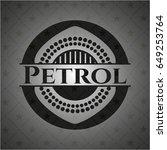 petrol black emblem | Shutterstock .eps vector #649253764