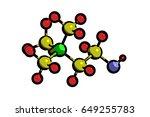 molecular structure of choline  ...