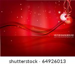 christmas background | Shutterstock .eps vector #64926013