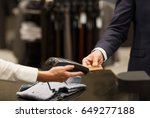 shopping mall  close up of... | Shutterstock . vector #649277188