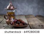 ramadan kareem holiday concept... | Shutterstock . vector #649280038